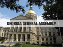 Georgia General Assembly Gold Dome Building Exterior